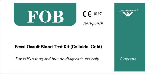 Lateral Flow Fecal Occult Blood Test Kit (Colloidal Gold)
