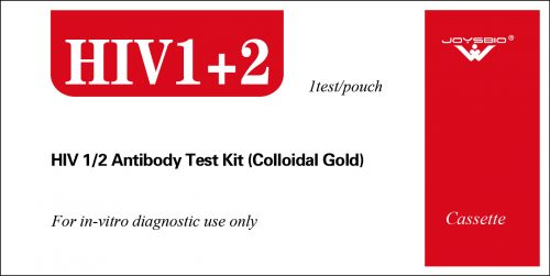 Lateral Flow HIV 1/2 Antibody Test Kit (Colloidal Gold)