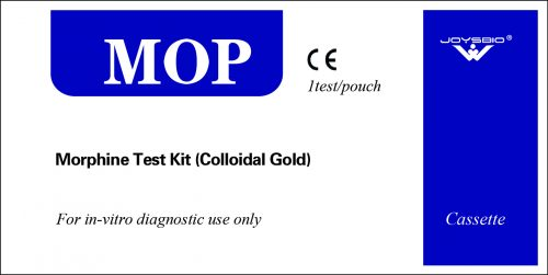 Lateral Flow Morphine Test Kit (Colloidal Gold)