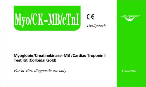 Lateral Flow Myoglobin/Creatinekinase-MB/Cardiac Troponin I Test Kit (Colloidal Gold)