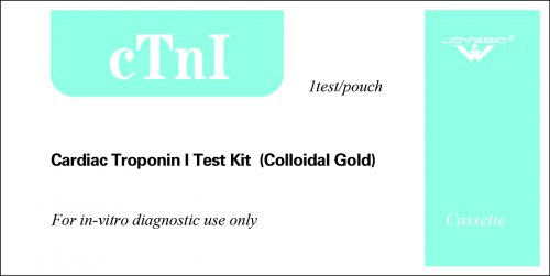 Lateral Flow Cardiac Troponin I Test Kit (Colloidal Gold)